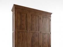 3D衣柜模型  古典实木衣柜模型下载