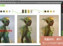 原画色彩配色艺术训练视频教程 CGCookie Color Course Understanding Color UPDATED