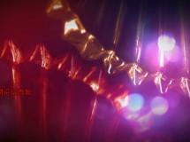 华丽炫彩的水晶掠影背景循环视频素材