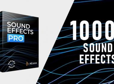 1000+常用无损音效 AEJuice - Sound Effects Pro
