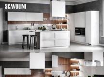 厨房橱柜模型 scavolini碟,厨房,装饰,椅板,,,exhaus ...