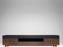 3D条柜模型 北欧宜家实木电视柜3D模型