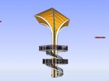 景观台景观台-4M草图大师su模型