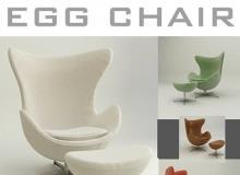 TurboSquid - Egg Chair