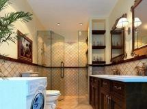 中式家居洗手间模型