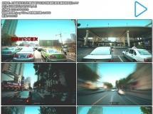 上海紧张生活节奏道路汽车流动快速街景高清视频实拍