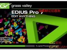Grass Valley EDIUS Pro 7.4 build 4884 破解版
