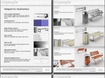 VizPeople-3D商场设施模型