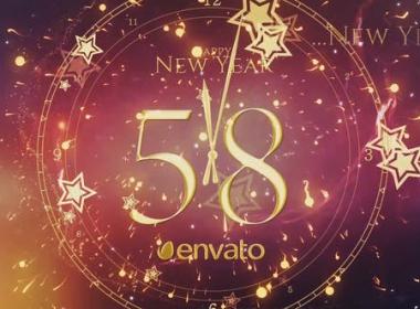 新年时钟倒计时片头 New Year Countdown 2021