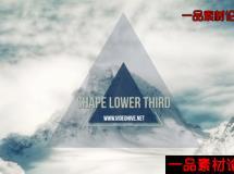 87-形状标题-shape lower third