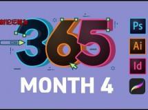 365 Days Of Creativity – Month 4