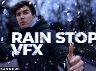 雨滴停止特效AE教程 Skillshare – Rain Stop VFX for Beginners to After Effects