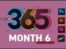 365 Days Of Creativity – Month 6