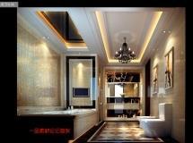 一套完整的豪宅效果图+CAD施工图集合