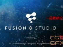 电影特效合成软件破解版 Blackmagic Design Fusion Studio 8.0 Build 18