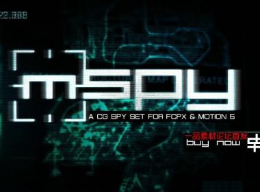 AE高科技数据元素插件包,MotionVFX - mSpy