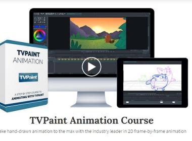 TVPaint卡通动画教程 Bloop Animation – TVPaint Animation