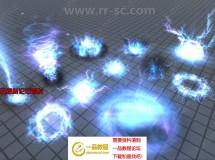 52组多种战斗法术火焰爆炸光粒子效应Unity游戏素材资源