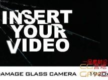 相机镜头玻璃破碎裂缝 VideoHive Damage Glass Camera