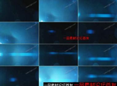 横向压缩变形的镜头光斑视频素材,非常实用