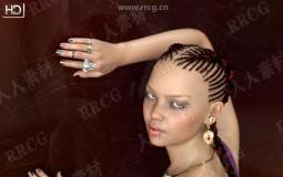 经典丰满巴西女性3D模型合集
