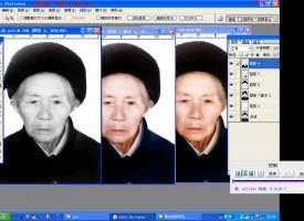 天师画王老照片翻新视频教程 (教程附带人物等级素材