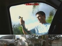 洗车场景高清实拍视频素材1080P