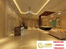 楼房销售处装潢模型