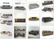 3ddd - modern sofa