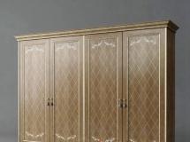 3D衣柜模型  欧式风格卧室衣柜下载