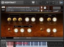 音效下载Replika Sound Classical Acoustic Guitar KONTAKT