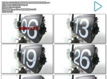 60秒小型计时器跳动转换数字高清视频延时实拍