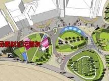 概念公园sketchup模型
