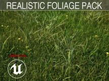 Cubebrush – Realistic Foliage Pack – UE4