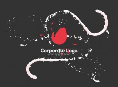流体线条Logo动画 Liquid Logo