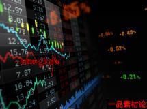 股票/证券市场大盘指数动态循环视频素材