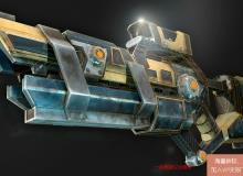 《MARI科幻武器纹理制作视频教程》英语版