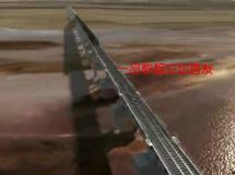 中国高铁和谐号火车动车铁路铁道高清三维视频素材