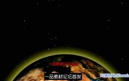 复古电影地球影像AE模板 Retro Cinematic Earth