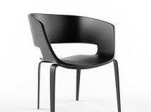 3D椅子模型  后现代椅子3D模型下载