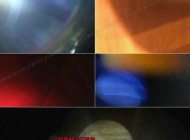 非常实用的2K级漏光光效视频素材2