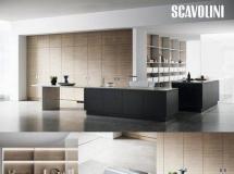 3DSKY 国外开放式厨房空间模型下载