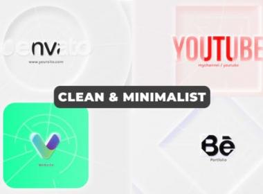 优雅简洁Logo动画 Clean & Minimalist