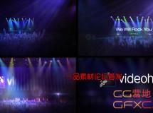 聚光灯音乐舞台 VideoHive Arena Show
