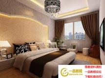 3D大气的卧室模型