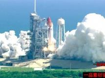 火箭发射高清实拍视频素材1080P