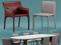 3D办公桌椅   现代办公桌椅3D模型下载