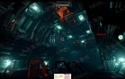 科幻恐怖实验室仓库室内场景UE4游戏素材资源