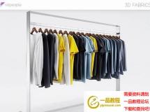 3D衣服模型  男士运动服模型 高品质 3D模型下载