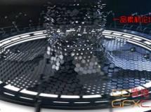 高科技电缆Logo动画 High-Tech Logo Reveal